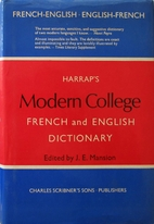 Harrap's modern college French and English…