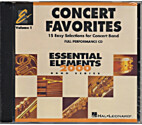 Concert Favorites Vol. 1 - CD by Unknown