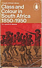 Class and Colour in South Africa, 1850-1950…