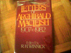 Letters of Archibald Macleish: 1907-1982 by…