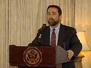 Author photo. Embassy of the U.S./Israel (Distinguished Speaker Series)