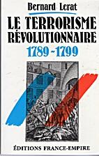 Le Terrorisme révolutionnaire:…