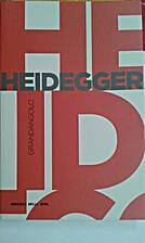 Heidegger by Costantino Esposito
