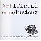 Artificial Conclusions: a new lecture for…