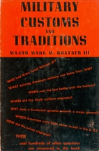 Military customs and traditions by Mark Mayo…
