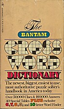 The Bantam Crossword Dictionary by Walter D.…