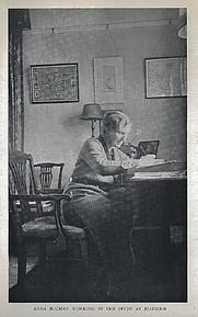 Author photo. Anna Buchan, circa 1940s