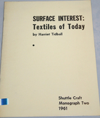 Surface Interest: Textiles of Today by…