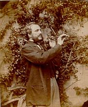 Author photo. Portrait by Lewis Carroll