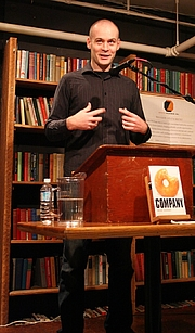 Author photo. © dejahthoris : http://commons.wikimedia.org/wiki/Image:Max_Barry_1.JPG