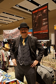 Author photo. Me at Jekyll Island Comic Con