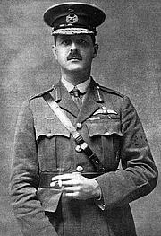 Author photo. Brigadier-General L E O Charlton CB CMG DSO RAF. Published 27 February 1919. Wikimedia Commons.