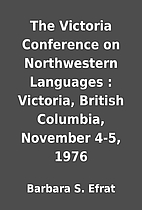 The Victoria Conference on Northwestern…