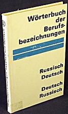 Wörterbuch der Berufsbezeichnungen :…