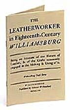 The leatherworker in eighteenth-century…