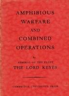 Amphibious Warfare and Combined Operations…