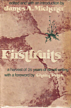 Firstfruits; a harvest of 25 years of…