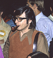 Author photo. Photo by Lars-Olov Strandberg, 30th World Science Fiction Convention, Los Angeles, Calif., 1972. Copyright © Lars-Olov Strandberg