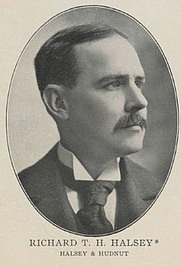 Author photo. R.T. Haines Halsey [credit: 1898 Revenues Blog]