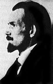 Author photo. Portrait Hans Blüher (1888-1955), ca. 1920