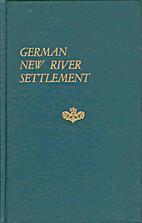 German New River settlement, Virginia by U.…