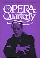 The Opera Quarterly - Vol. 18 Nr 1 by E.…