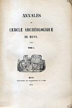 Mons: 1930-32, T.51 - Annales du Cercle…
