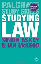 Studying Law by Simon Askey