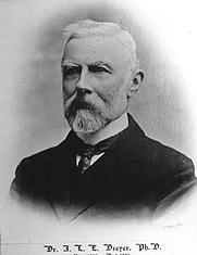 Author photo. John Louis Emil Dreyer