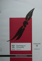 Psychology of personality : PSY 305 Study…
