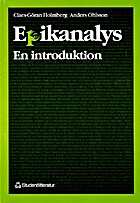 Epikanalys : en introduktion by Claes-Göran…