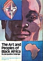 Art and People of Black Africa by De Lange…