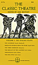 The Classic Theatre Volume I: Six Italian…