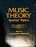 Music Theory, Special Topics by Richmond…
