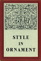 Style in ornament by Joan Evans