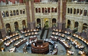 Author photo. Library of Congress Reading Room, Jefferson Building (photo by Mark Pellegrini)