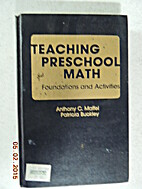 Teaching Preschool Math: Foundations and…