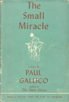 The Small Miracle by Paul Gallico