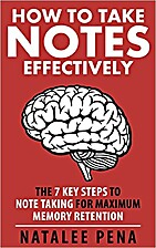 NOTE TAKING: How to Take NOTES Effectively -…