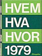 Hvem hva hvor 1979 Aftenpostens aktuelle…