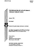 The Propagation of Satellite Signals Through…