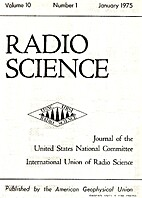Radio Science -- January 1975 by Akira…