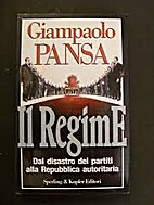 Il regime by Giampaolo Pansa