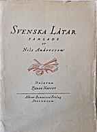 Svenska låtar H. 4 Dalarna by Nils…