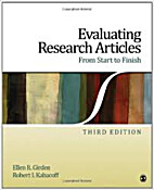 Evaluating Research Articles From Start to…