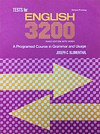 Tests for English 3200: A Programed Course…