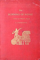 The Burning of Rome. A story of Nero's days.…