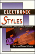 Electronic Style: A Guide to Citing…