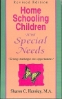 Home Schooling Children With Special Needs - Sharon Hensley