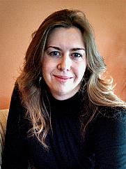Author photo. M. K. Wiseman, author